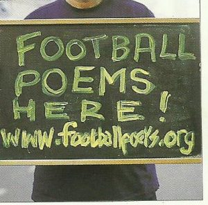Footbal Poems here blackboard